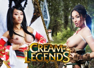 League of Legends VR Porn Cosplay