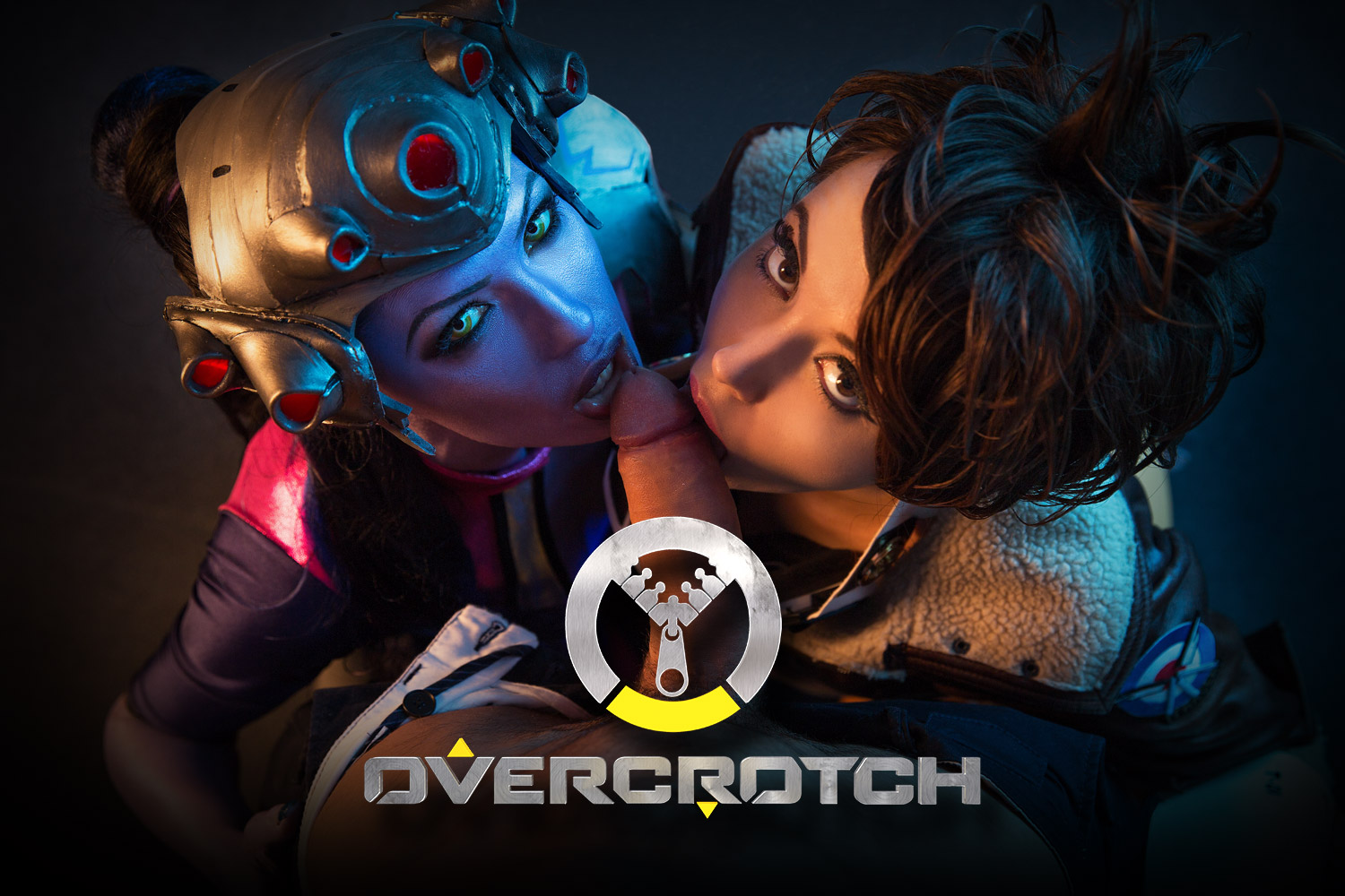 Overwatch Virtual Reality Porn Cosplay starring Widowmaker and Tracer