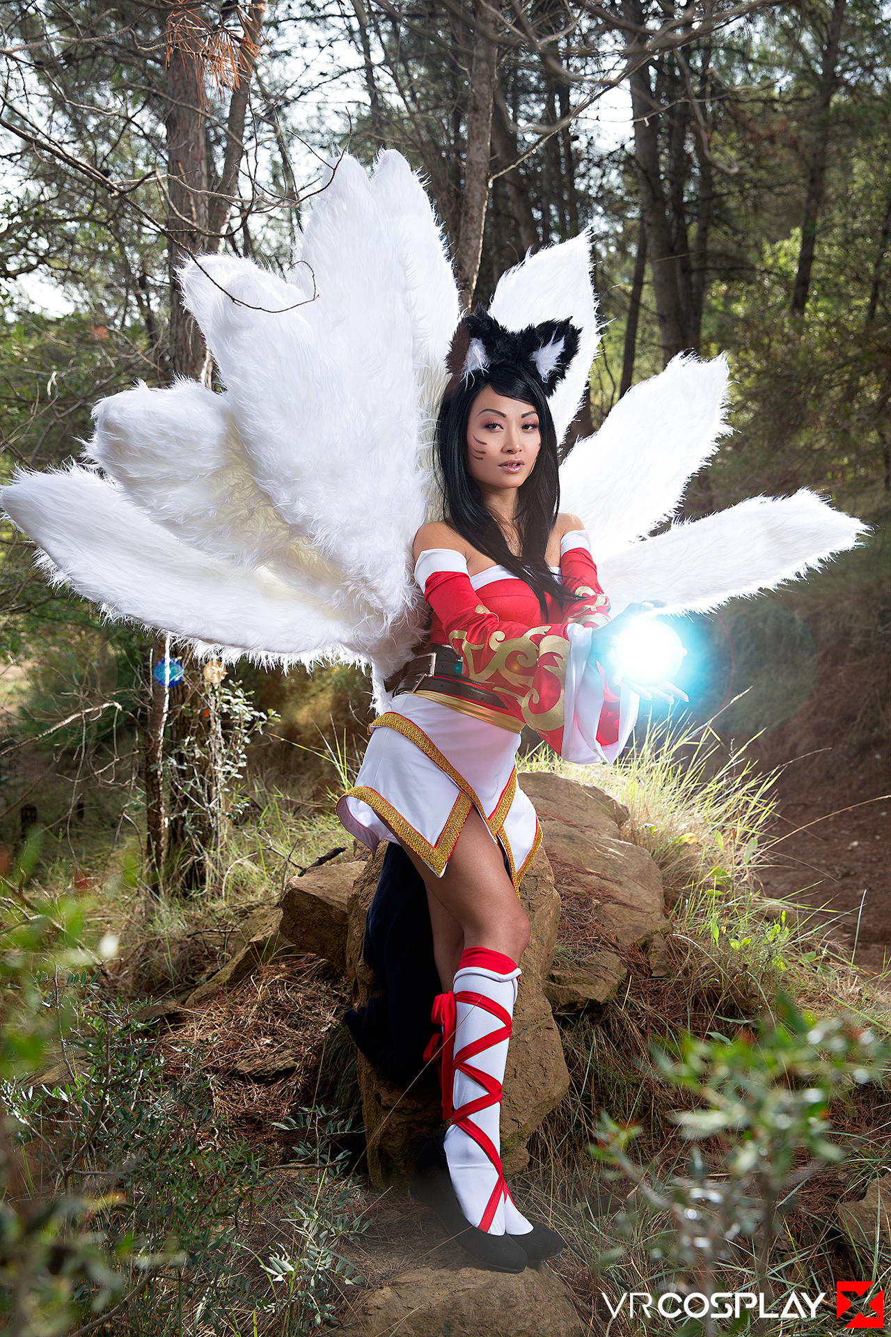 League of Legends VR Porn Cosplay Ahri