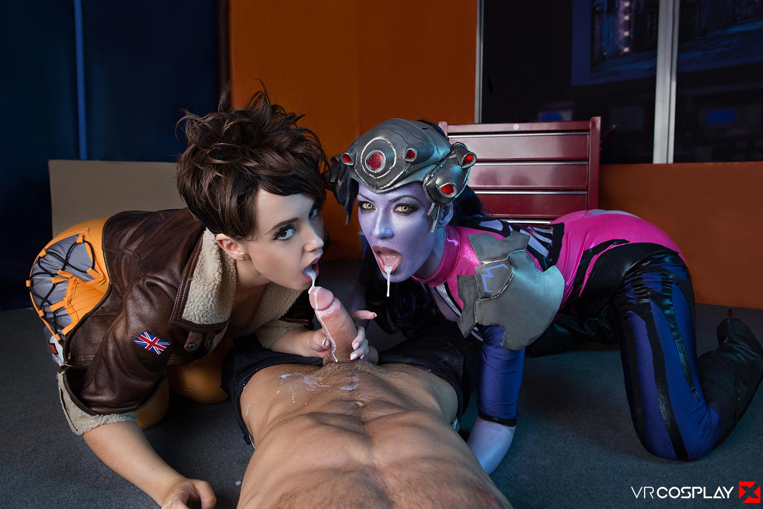 Overwatch cosplay porn