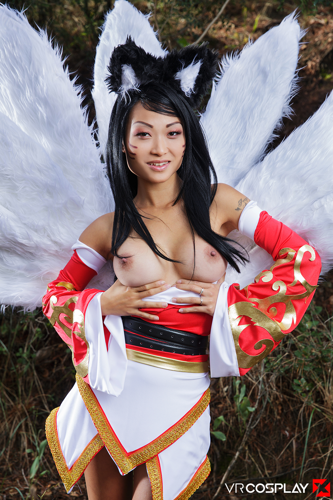 Girl cosplay asian