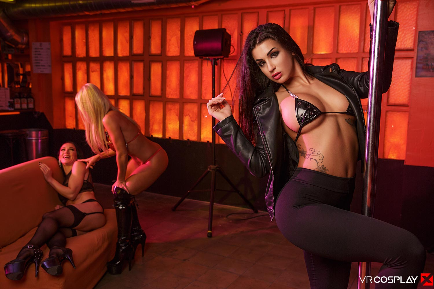 GTA VR Cosplay Strip Club