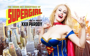 Supergirl VR Porn Cosplay