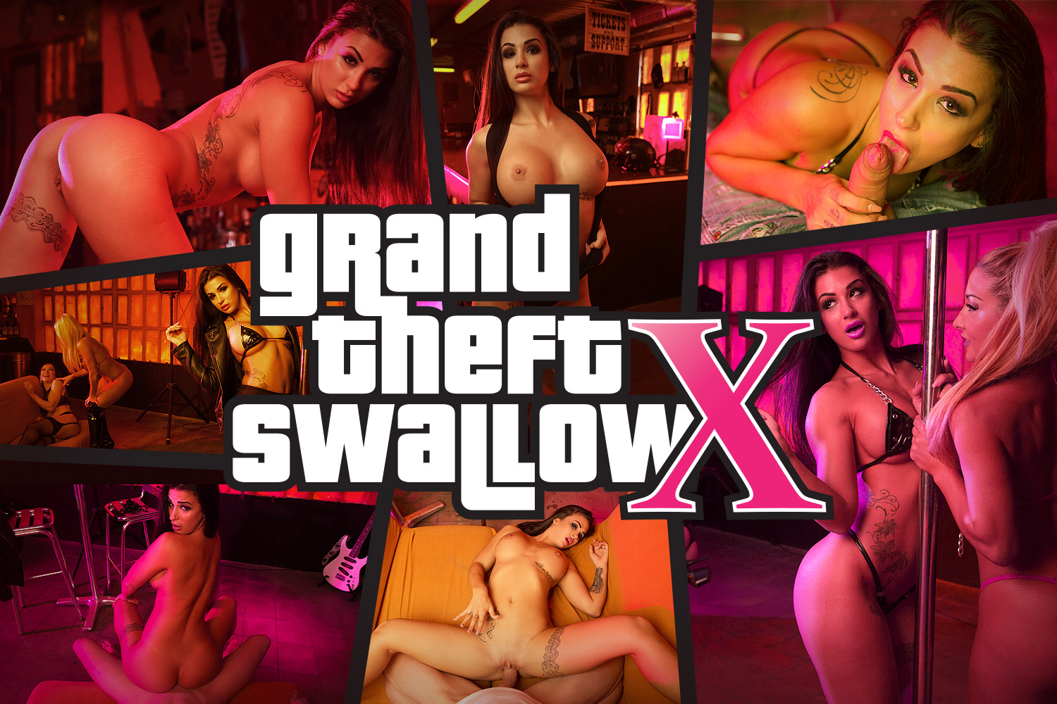 GTA VR Cosplay Porn Scene in the Strip Club | MobileVRxxx