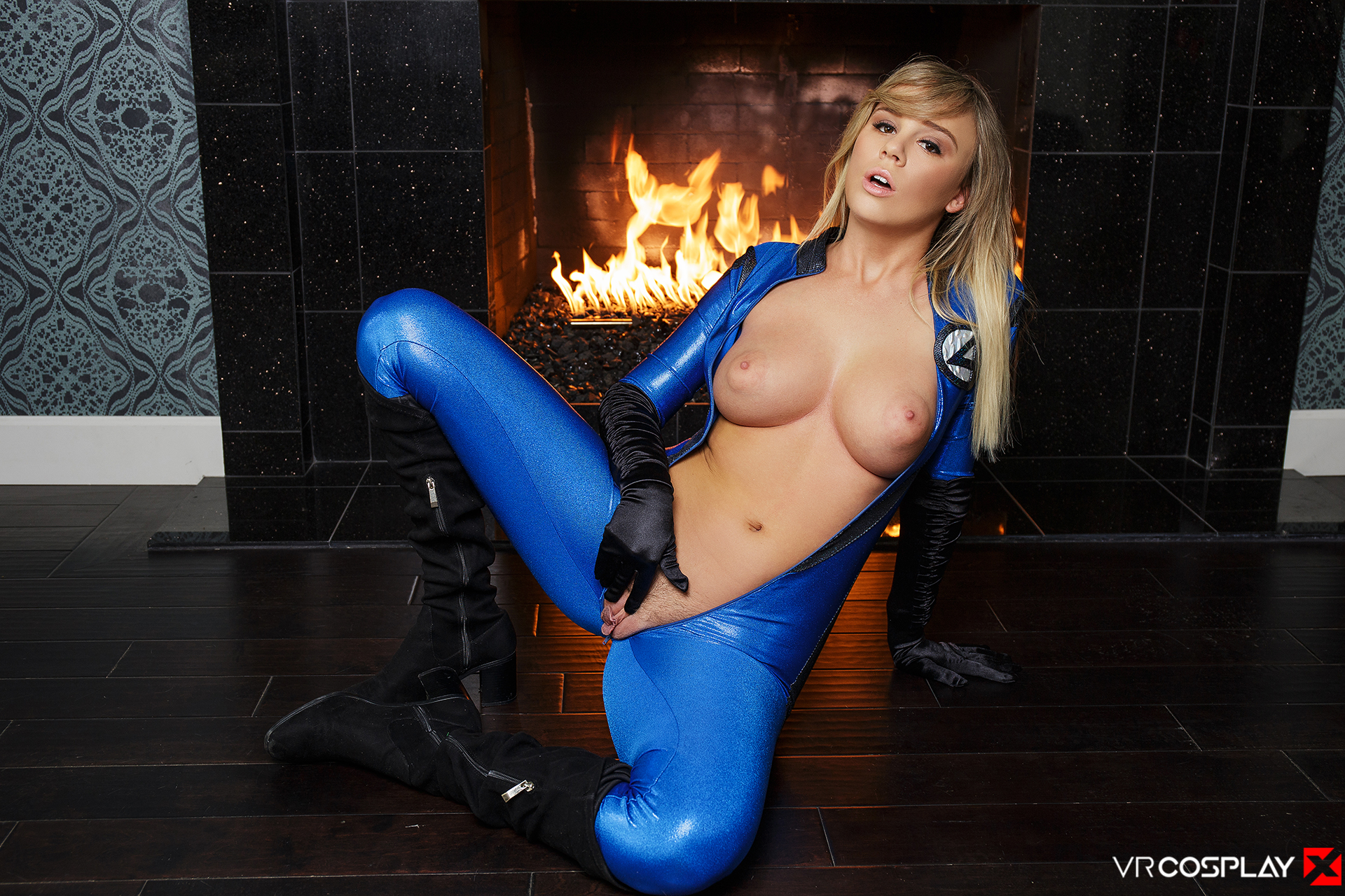 Fantastic Four Vr Porn Cosplay With Busty Alexis Adams -2201
