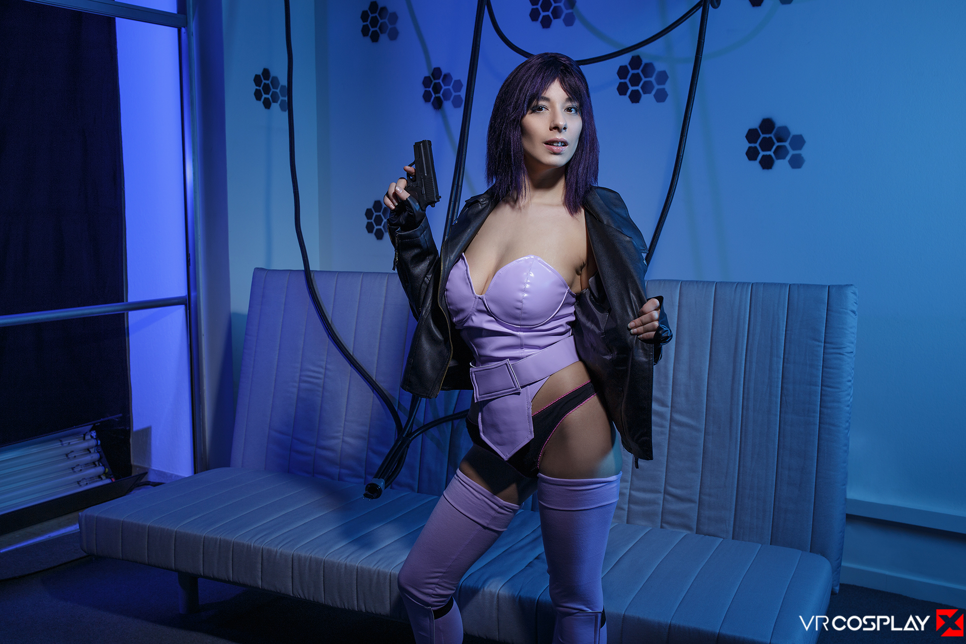 Ghost in the Shell VR Cosplay Zenda Sexy as Major
