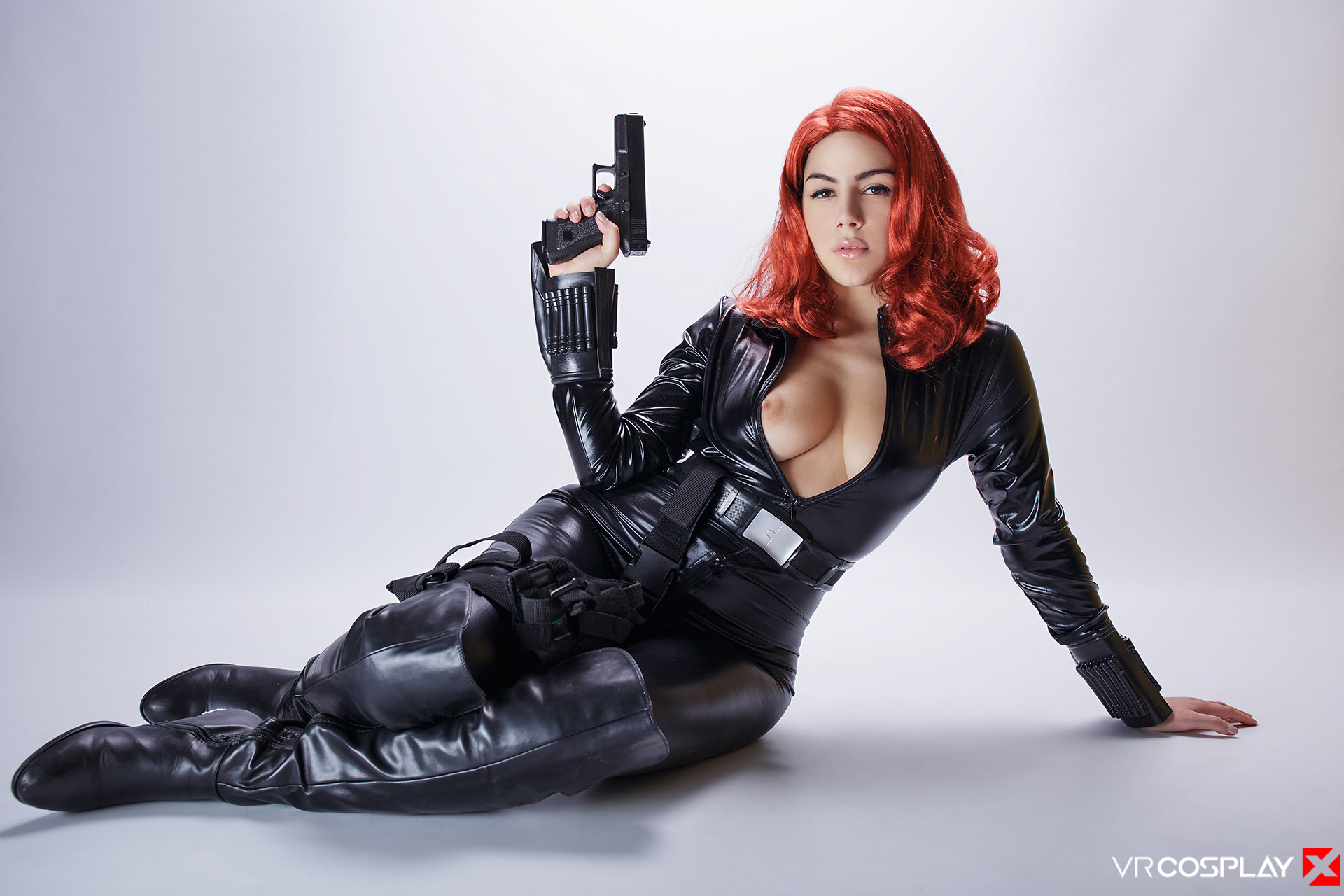 Avengers VR Porn Cosplay Black Widow