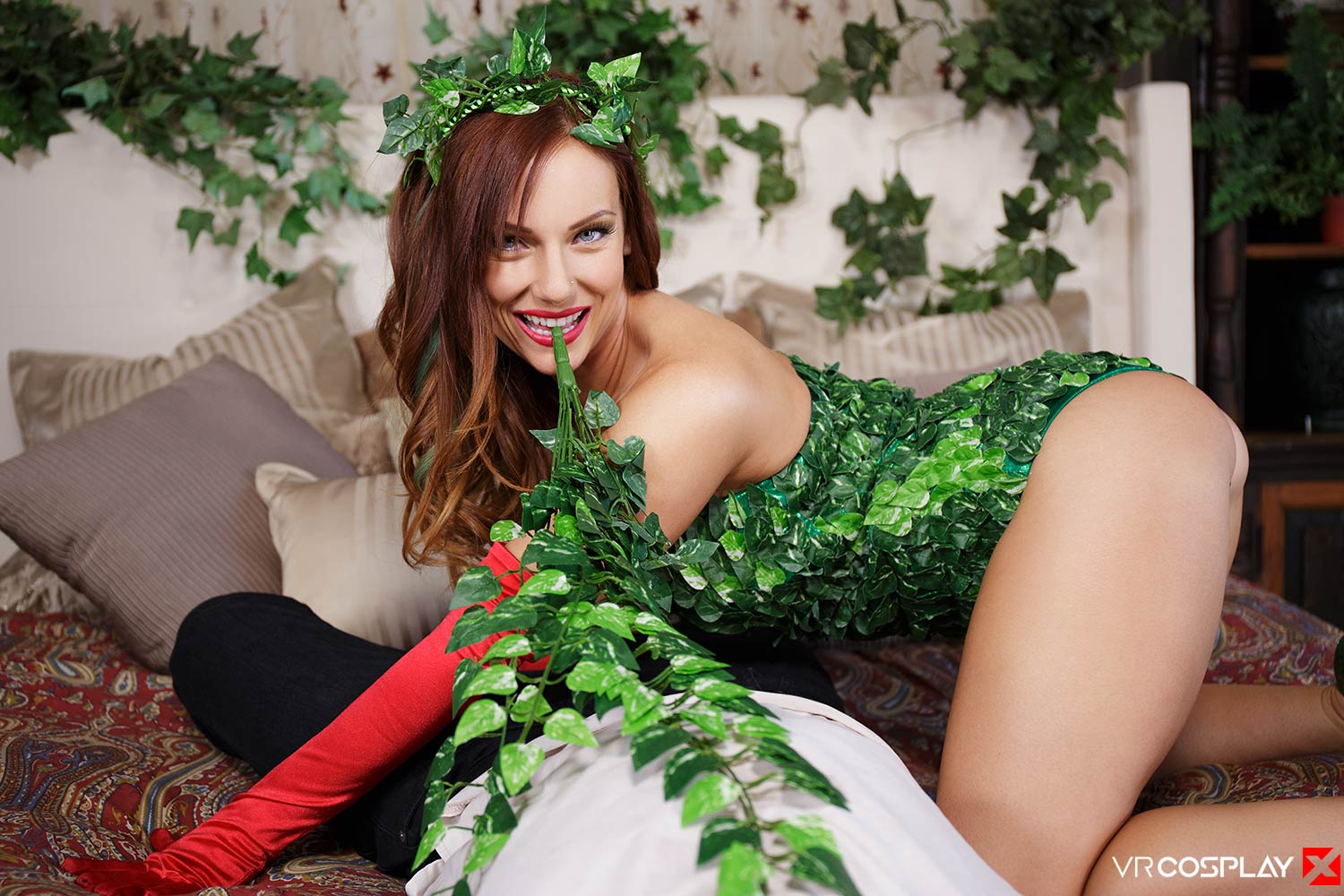 Poison Ivy VR Porn Cosplay