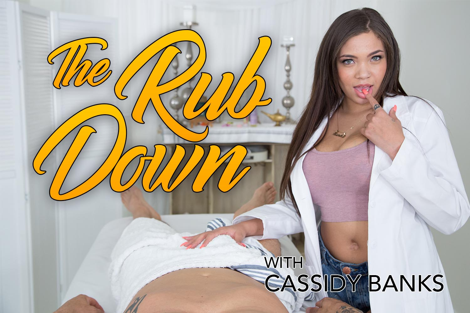 The Rub Down - Massage and Tittyfuck by Cassidy Banks | MobileVRXXX