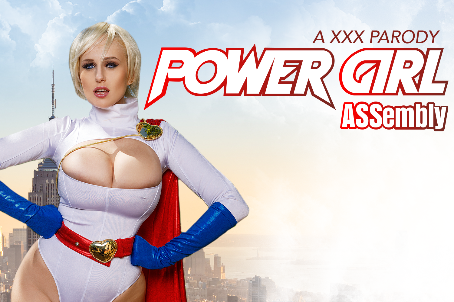 "Cosplay Porn ""Powergirl Assembly"" starring Angel Wicky by MobileVRXXX"