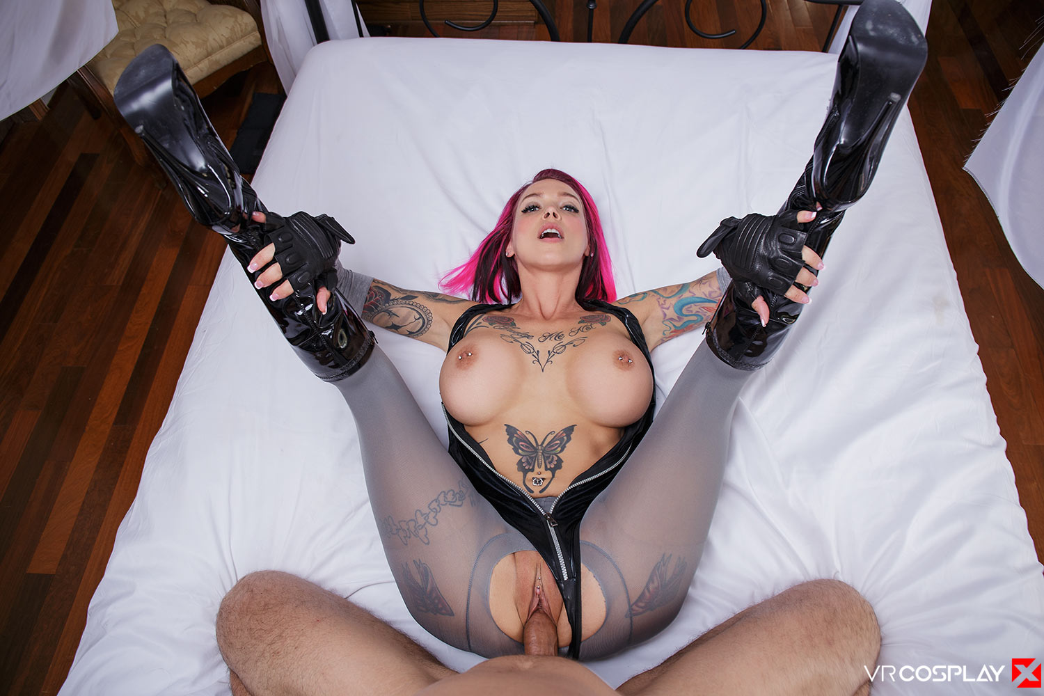 Anna Bell Peaks Cosplay VR Porn