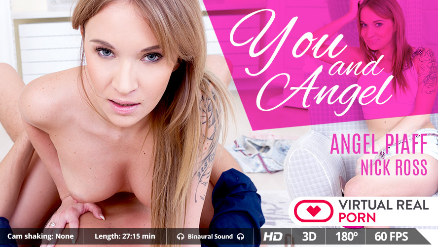 Cum Inside Angel Piaff's Tight Teen Ass by MobileVRXXX