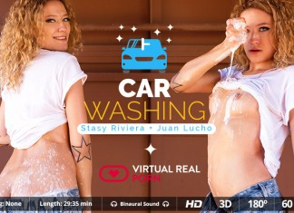 Carwash VR Porn with Stasy Riviera