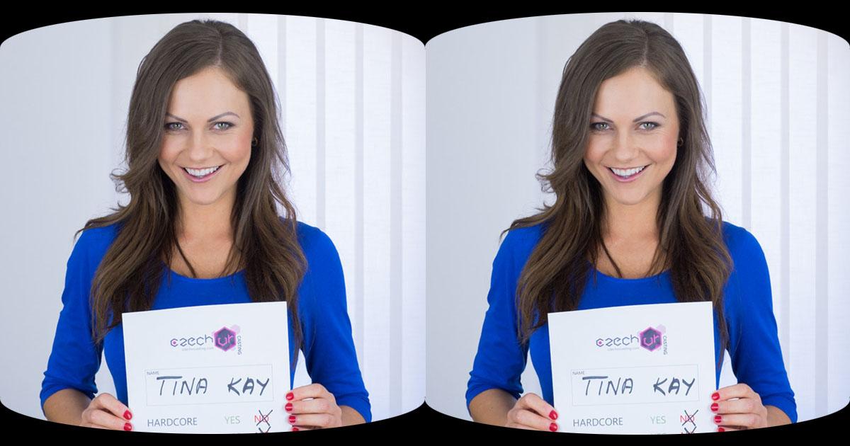 Czech VR Casting - JOI with Horny Tina Kay | MobileVRXXX