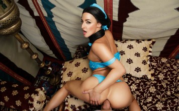 Aladdin Vr Porn Cosplay Anal Only starring Amirah Adara as Jasmine