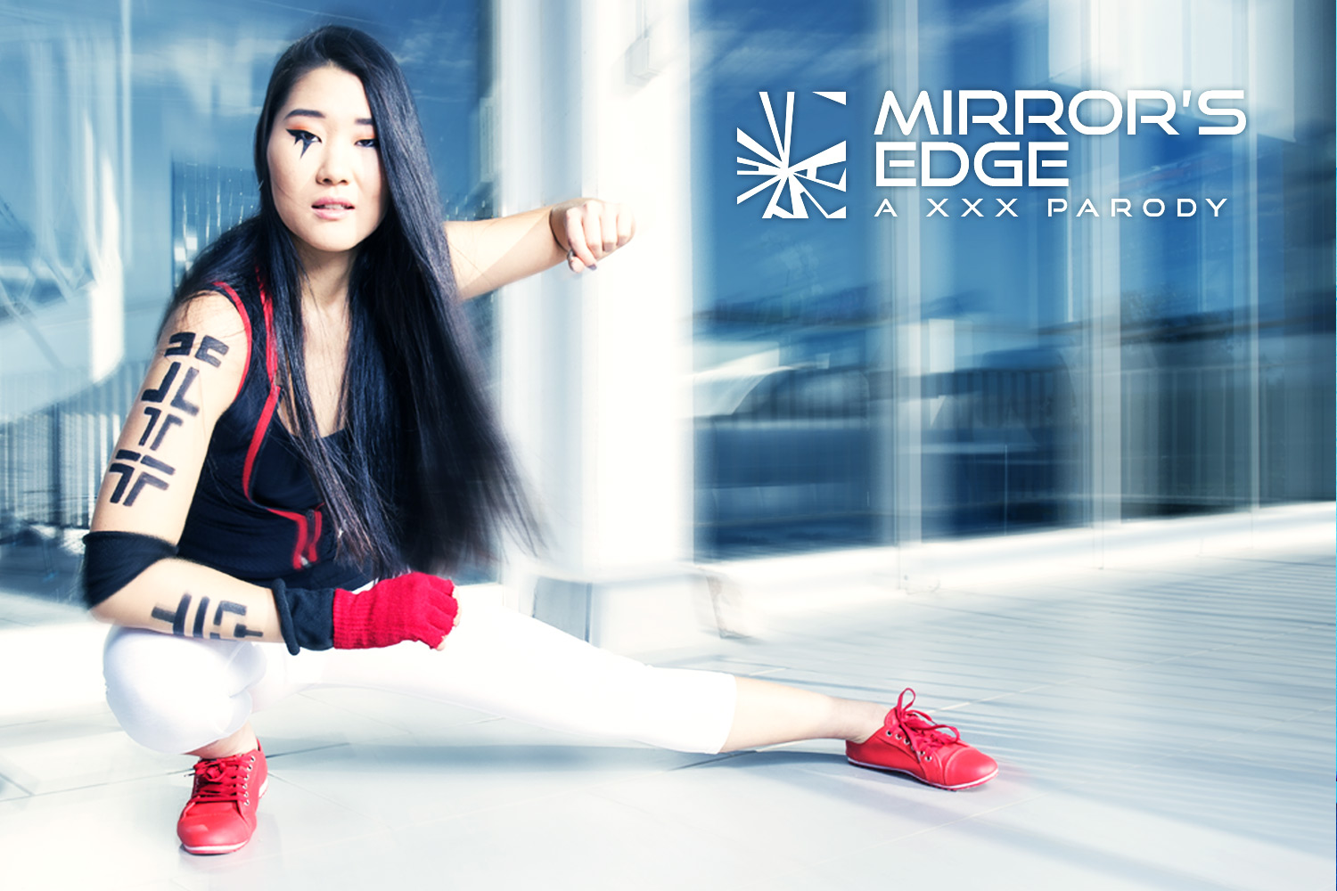 Mirror's Edge VR Porn Cosplay starring Katana as Faith | MobileVRXXX