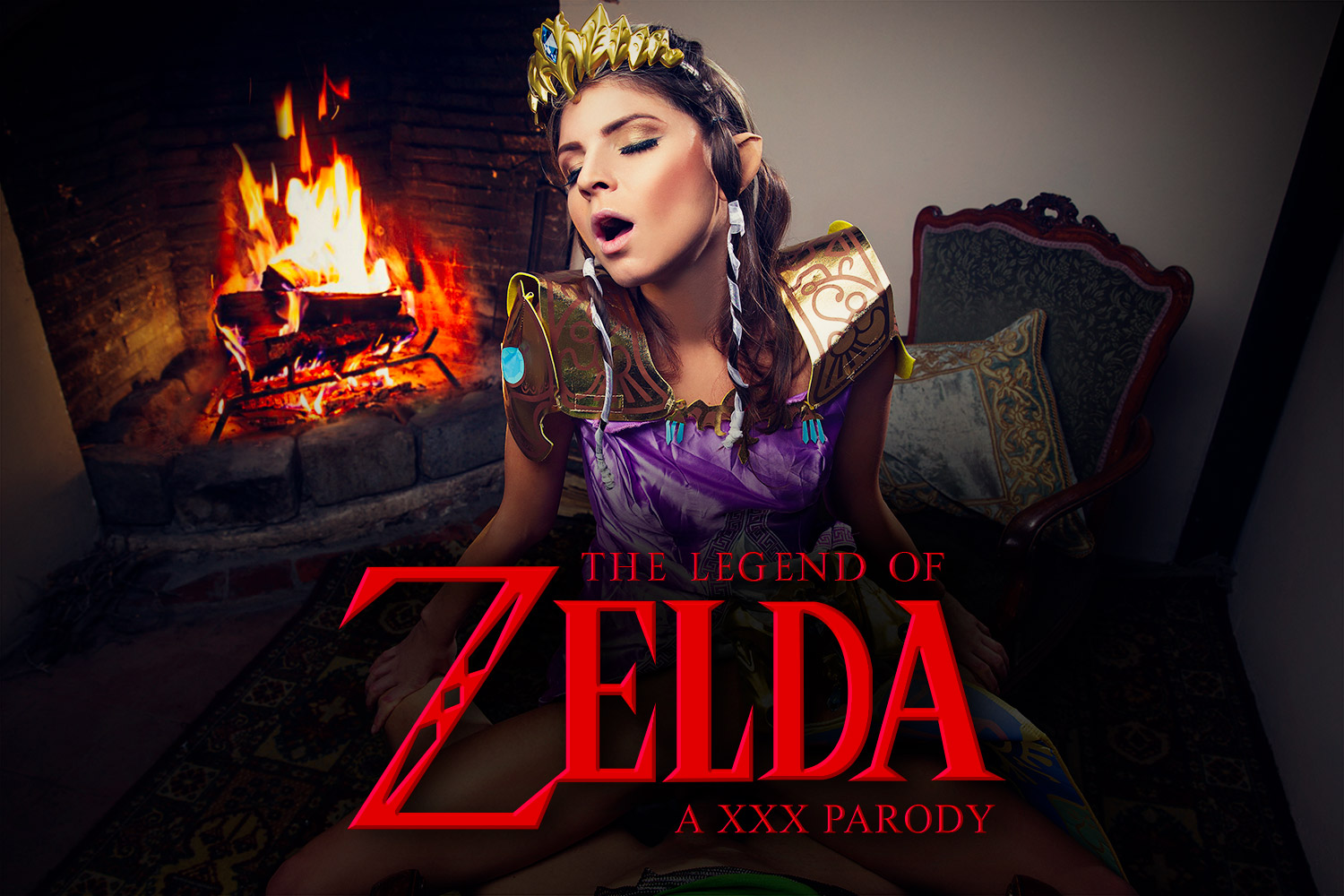 The Legend of Zelda VR Porn Cosplay with Gina Gerson | MobileVRXXX