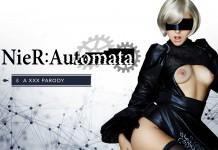 NieR: Automata VR Porn Cosplay starring Zoe Doll as 2B