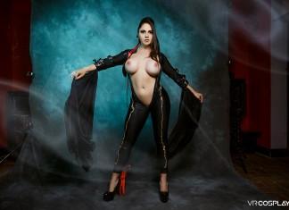 Bayonetta VR Porn Cosplay starring Marta LaCroft