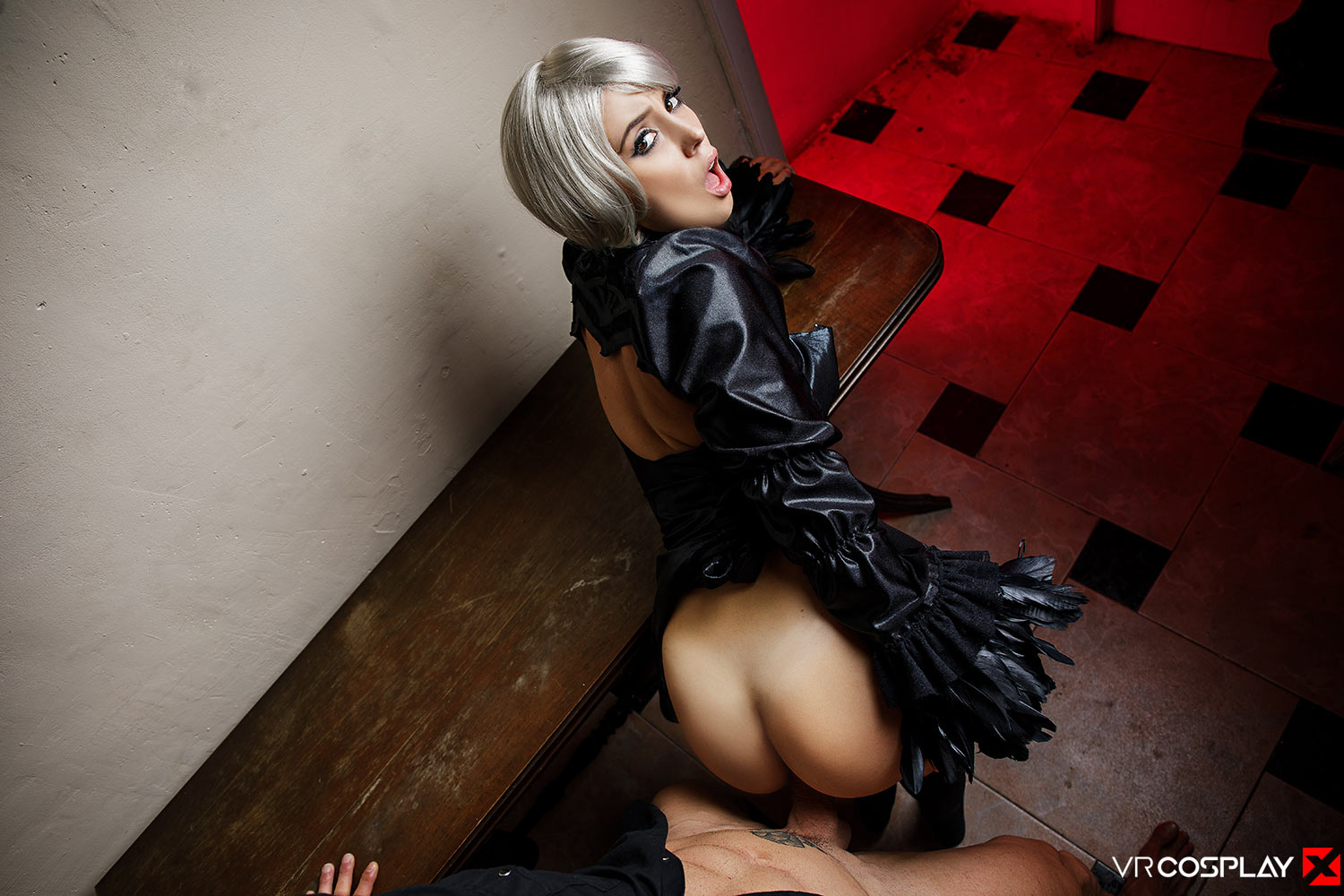 NieR: Automata VR Porn Cosplay starring Zoe Doll as 2B