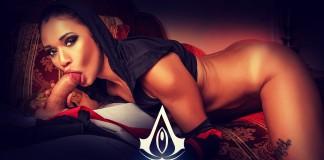 Assassin's Creed VR Porn Cosplay starring Jade Presley as Shao Jun