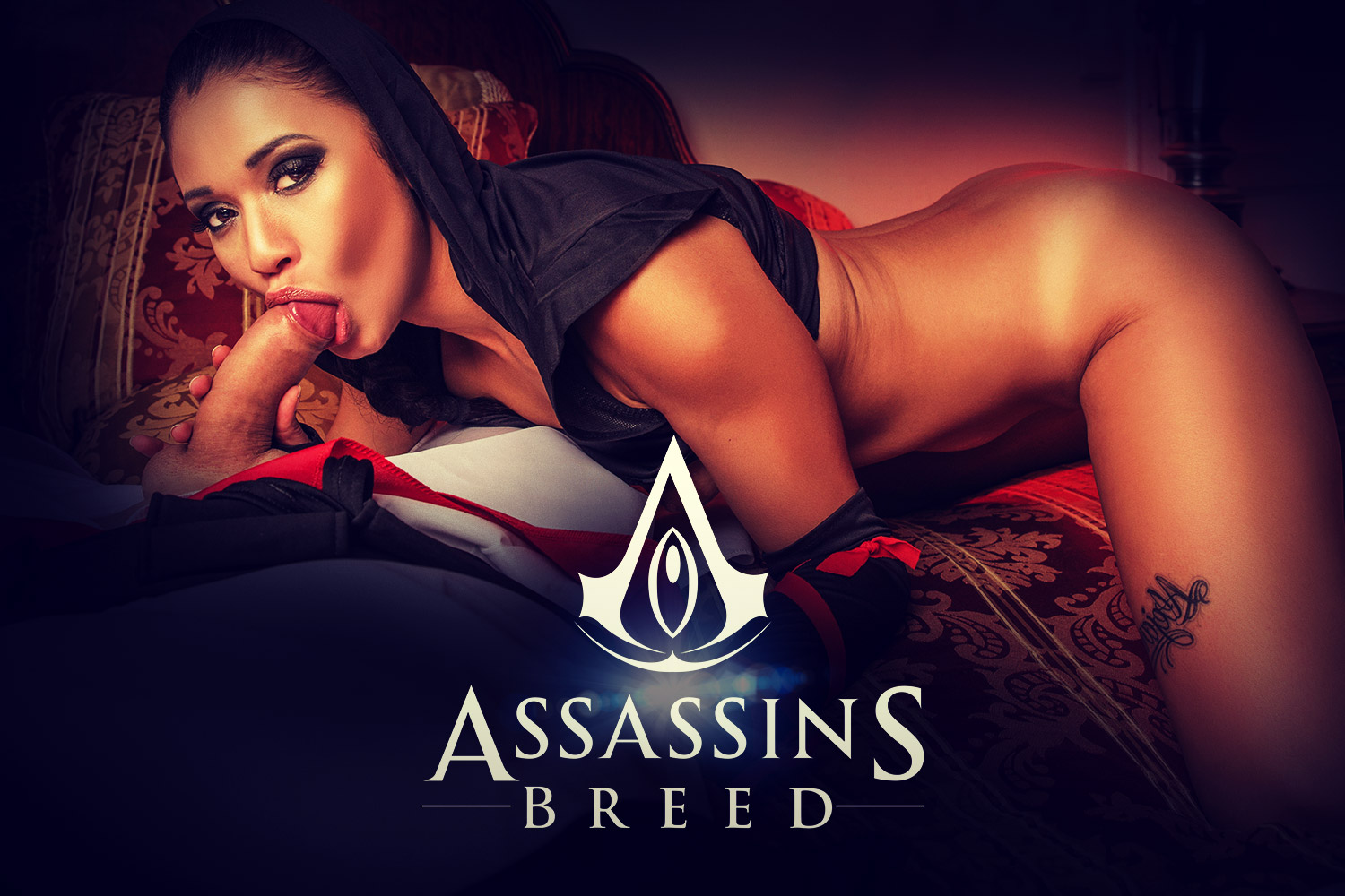 Assassin's Creed VR Porn Cosplay starring Jade Presley | MobileVRXXX