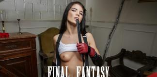 Final Fantasy VR Porn Cosplay starring Lovenia Lux as Tifa Lockhart