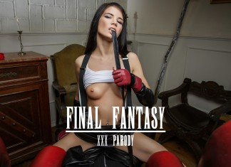 Final Fantasy VR Porn Cosplay starring Lovenia Lux as Tifa Lockhart