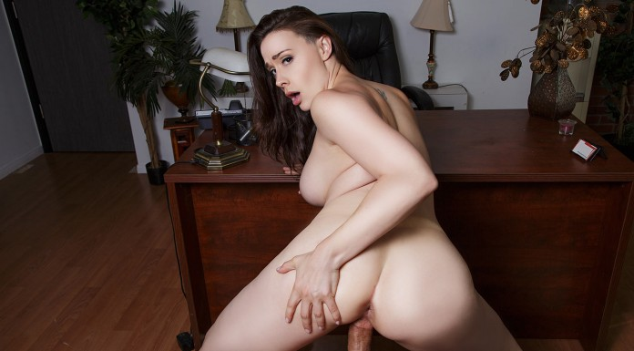 Fuck your Curvy boss Chanel Preston to keep your job