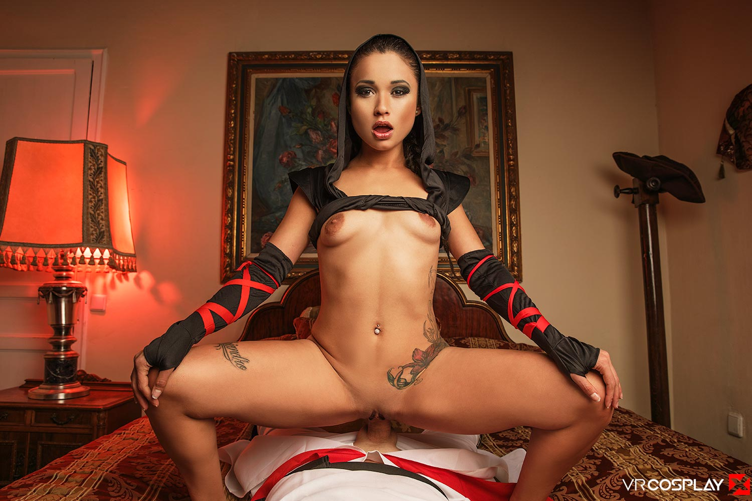 Assassin's Creed VR Porn Cosplay starring Jade Presley as Shao Jun