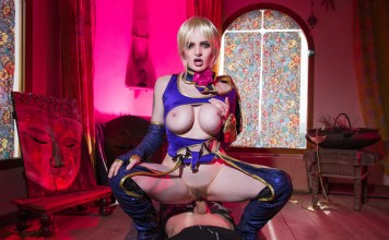 SoulCalibur VR Porn Cosplay starring Carly Rae Summers as Ivy Valentine