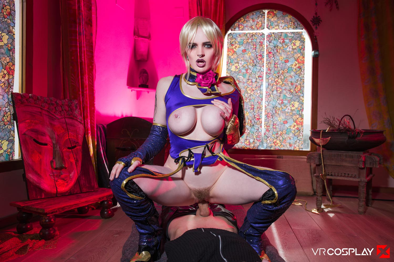 Soulcalibur Vr Porn Cosplay Starring Carly Rae Summers -8248