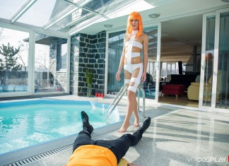The Fifth Element VR Porn Cosplay starring Alexis Crystal