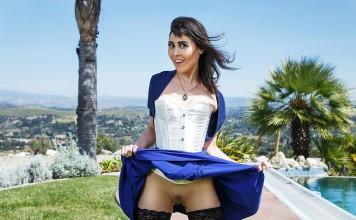 BioShock VR Porn Cosplay starring Audrey Noir as Elizabeth