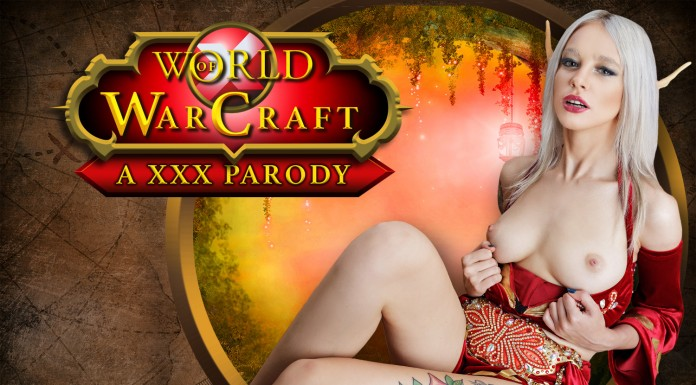 World of Warcraft VR Porn Cosplay starring Blood Elf Arteya