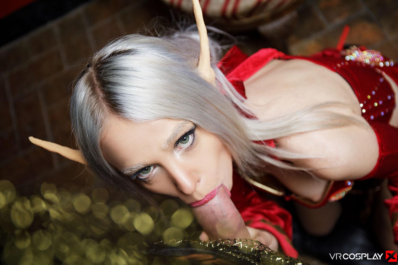 female blood elf nude