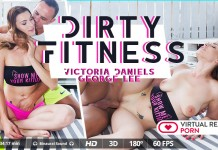 FOV VR - Dirty Fitness starring Victoria Daniels