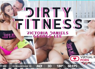 FOV VR - Dirty Fitness starring Victoria Daniels
