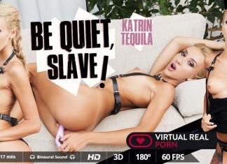 VR Femdom with blonde Mistress Katrin Tequila