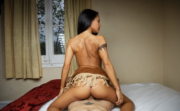 Pocahontas VR Porn Cosplay starring sexy Apolonia Lapiedra