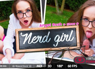 Nerd Girl Angel Rush
