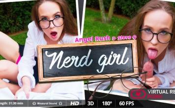Nerd Girl Angel Rush