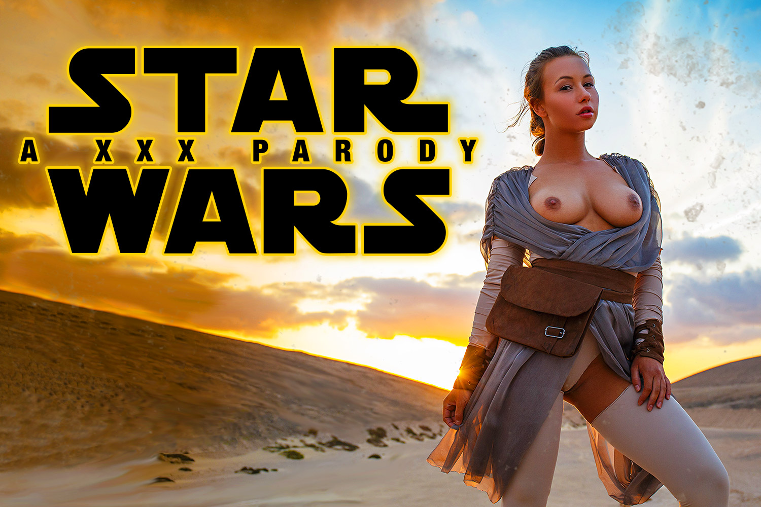 Star Wars Vr Porn Cosplay Starring Taylor Sands As Rey -9299
