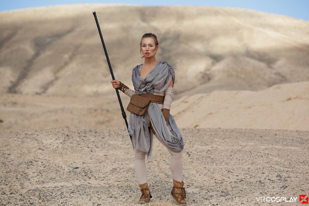 Star Wars Vr Porn Cosplay Starring Taylor Sands As Rey -7436