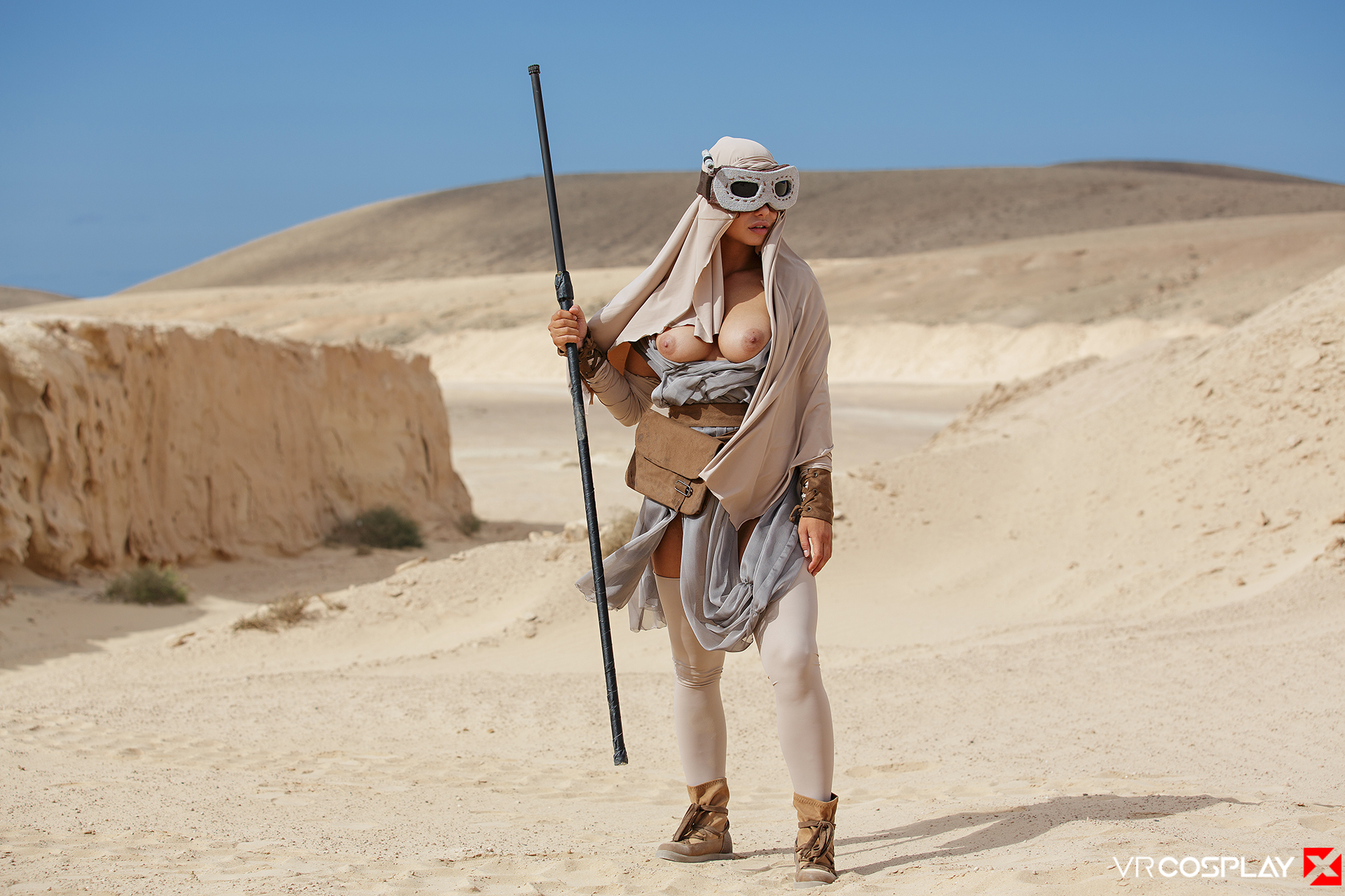 Star Wars Vr Porn Cosplay Starring Taylor Sands As Rey -4271