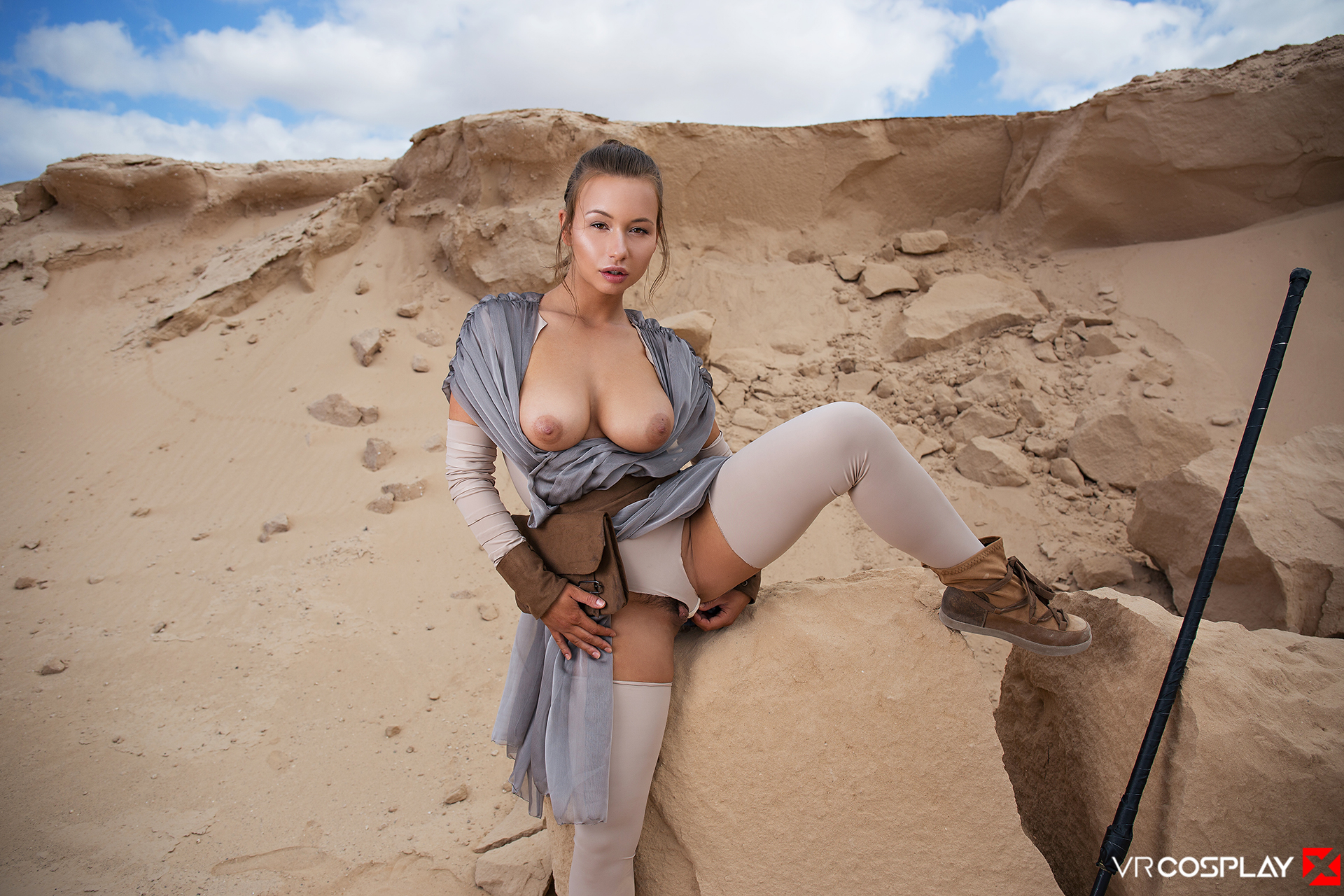 Star Wars Vr Porn Cosplay Starring Taylor Sands As Rey -6152