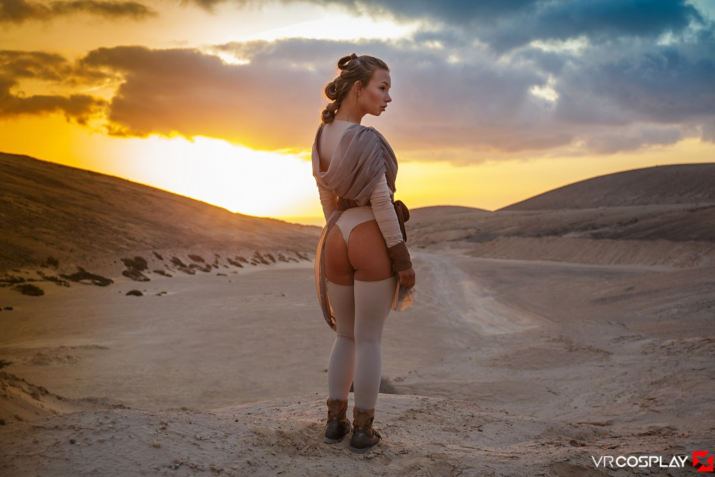 Star Wars Vr Porn Cosplay Starring Taylor Sands As Rey -5042
