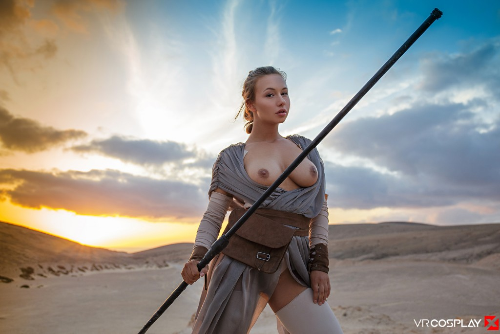 Star Wars Vr Porn Cosplay Starring Taylor Sands As Rey -1704