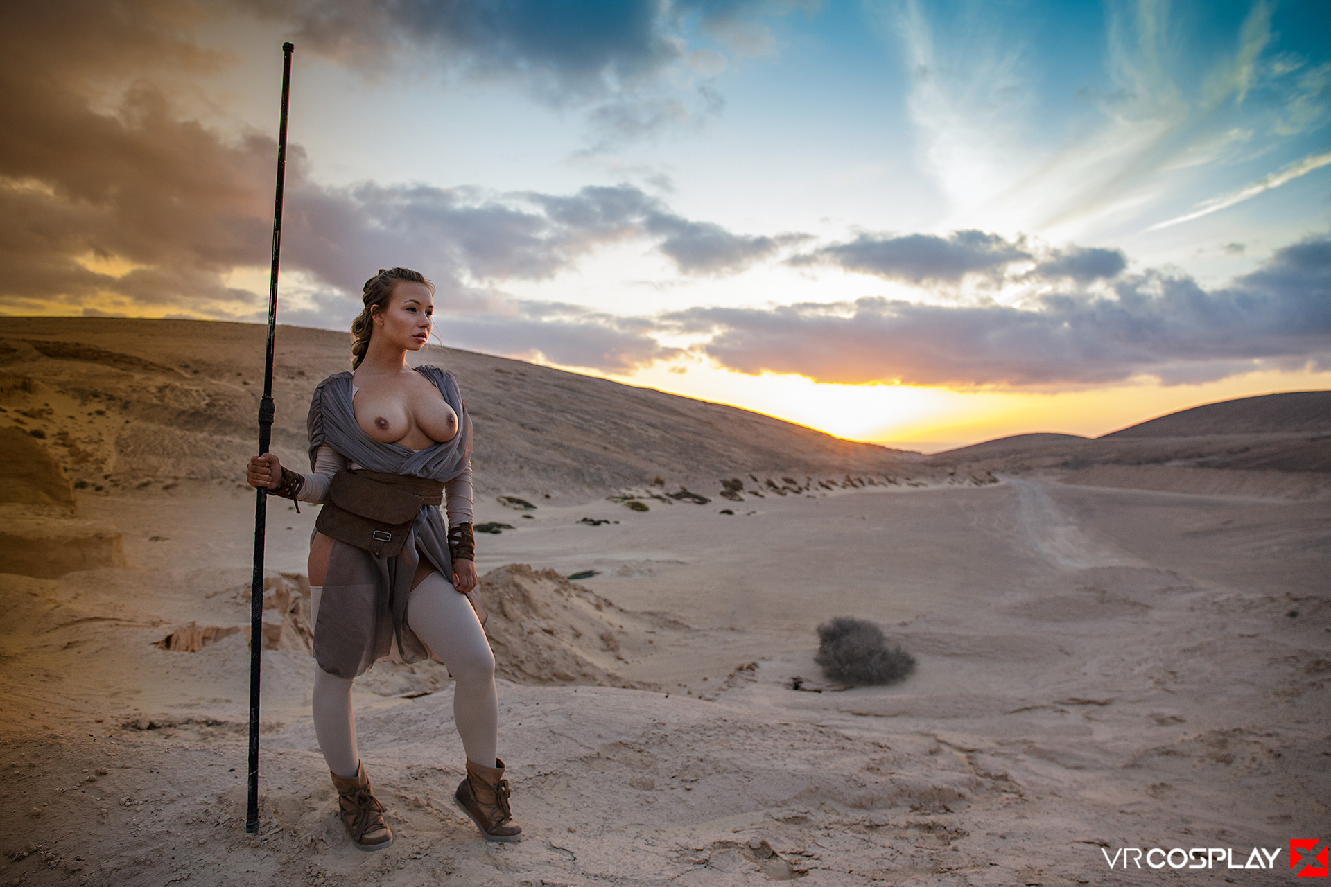 Star Wars Vr Porn Cosplay Starring Taylor Sands As Rey -1175