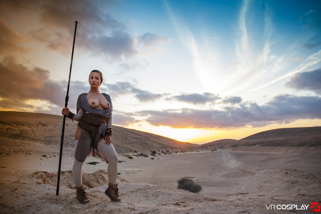 Star Wars Vr Porn Cosplay Starring Taylor Sands As Rey -2605